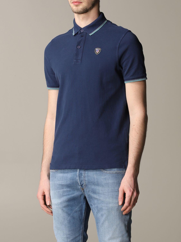T-shirt Blauer: T-shirt men Blauer blue 4
