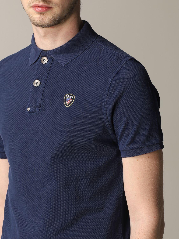 T-shirt Blauer: T-shirt men Blauer blue 5