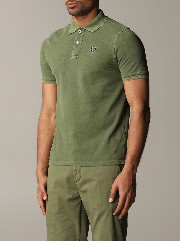T-Shirt Blauer: T-shirt herren Blauer military 4