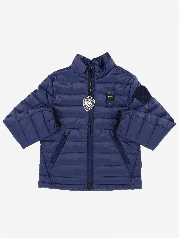 外套 Blauer: Blauer logo 60克羽绒服 蓝色 1