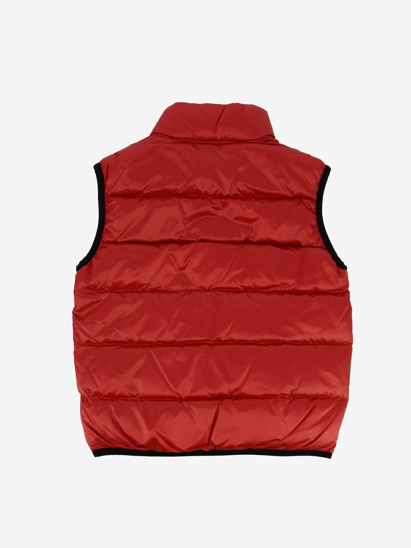 Giacca Blauer: Piumino a gilet Blauer 60 grammi con logo rosso 2