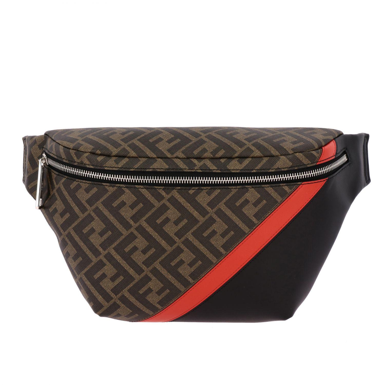 huge sale reliable quality really comfortable Belt Bag Fendi Men | Belt Bag Men Fendi 7VA434 A9XS Giglio EN
