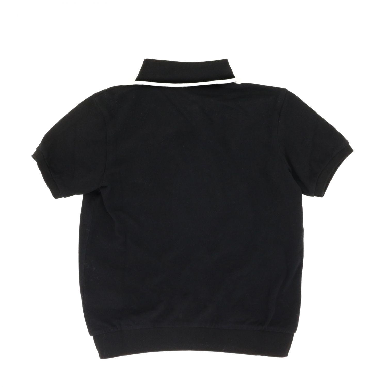 Polo Dolce & Gabbana: Polo Dolce & Gabbana a maniche corte con logo nero 2