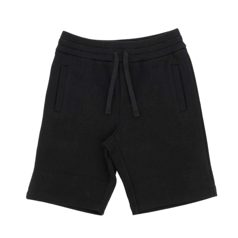 Pantaloncino Dolce & Gabbana: Pantaloncino Dolce & Gabbana con coulisse nero 1