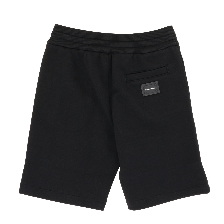 Pantaloncino Dolce & Gabbana: Pantaloncino Dolce & Gabbana con coulisse nero 2