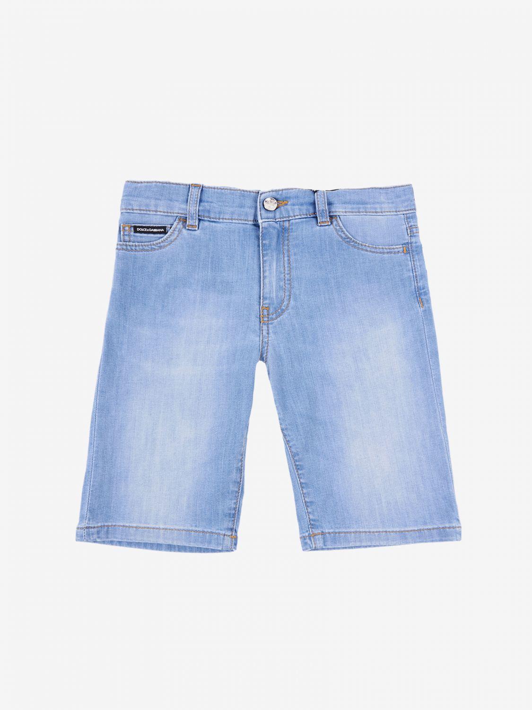 Pantaloncino Dolce & Gabbana: Pantaloncino di jeans Dolce & Gabbana polvere 1