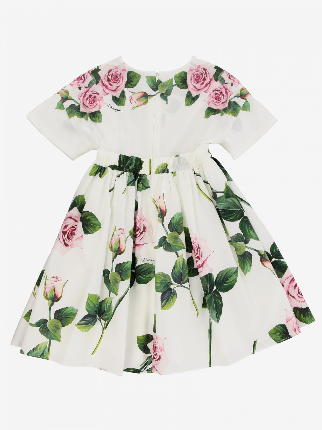 Dress kids Dolce & Gabbana white 2