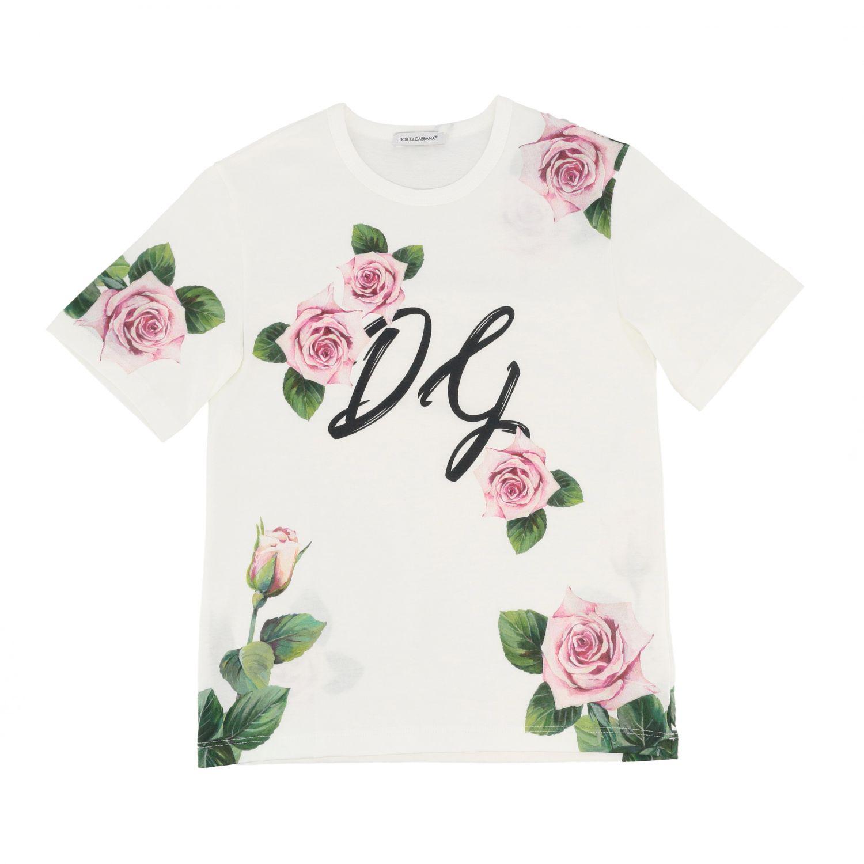 T-shirt Dolce & Gabbana: T-shirt kids Dolce & Gabbana white 1