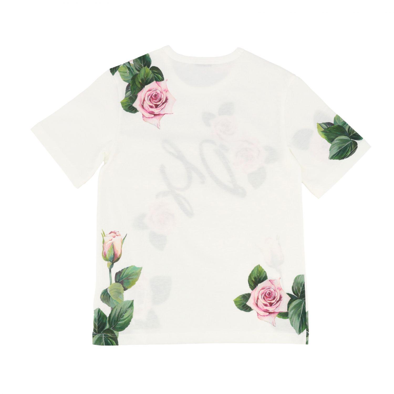 T-shirt Dolce & Gabbana: T-shirt kids Dolce & Gabbana white 2