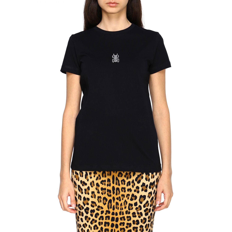 T-shirt femme Frankie Morello noir 1