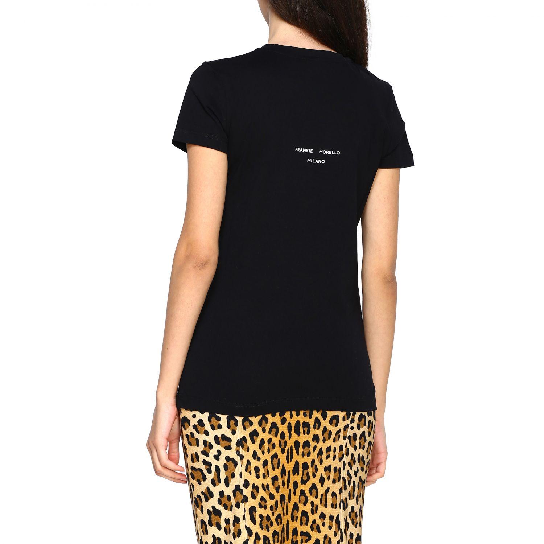 T-shirt femme Frankie Morello noir 3