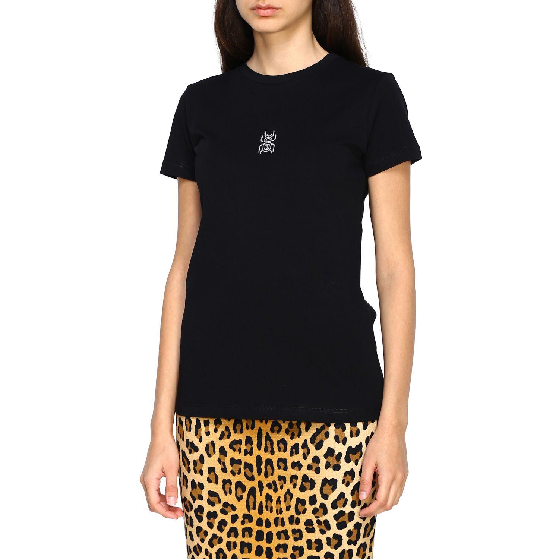 T-shirt femme Frankie Morello noir 4