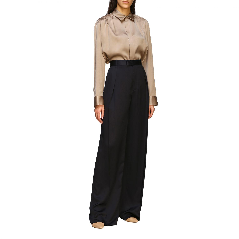 Bottega Veneta silk shirt beige 2