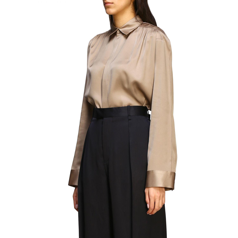 Bottega Veneta silk shirt beige 4