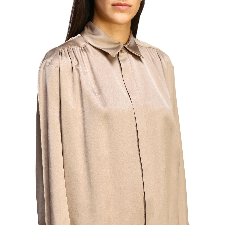Bottega Veneta silk shirt beige 5