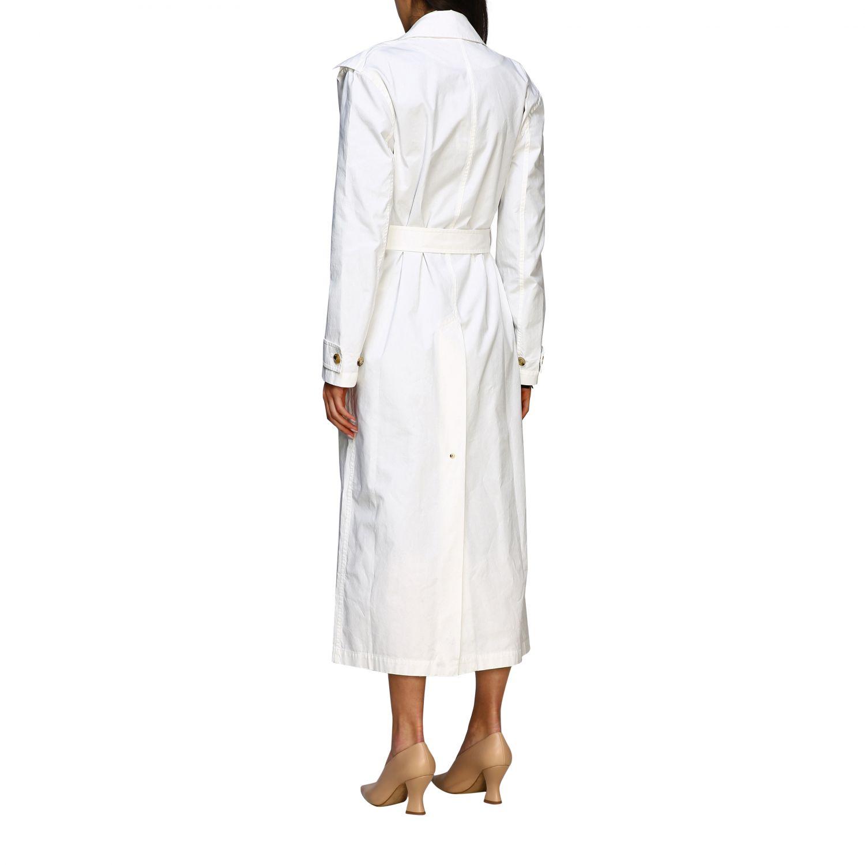 Coat Bottega Veneta: Coat women Bottega Veneta white 3