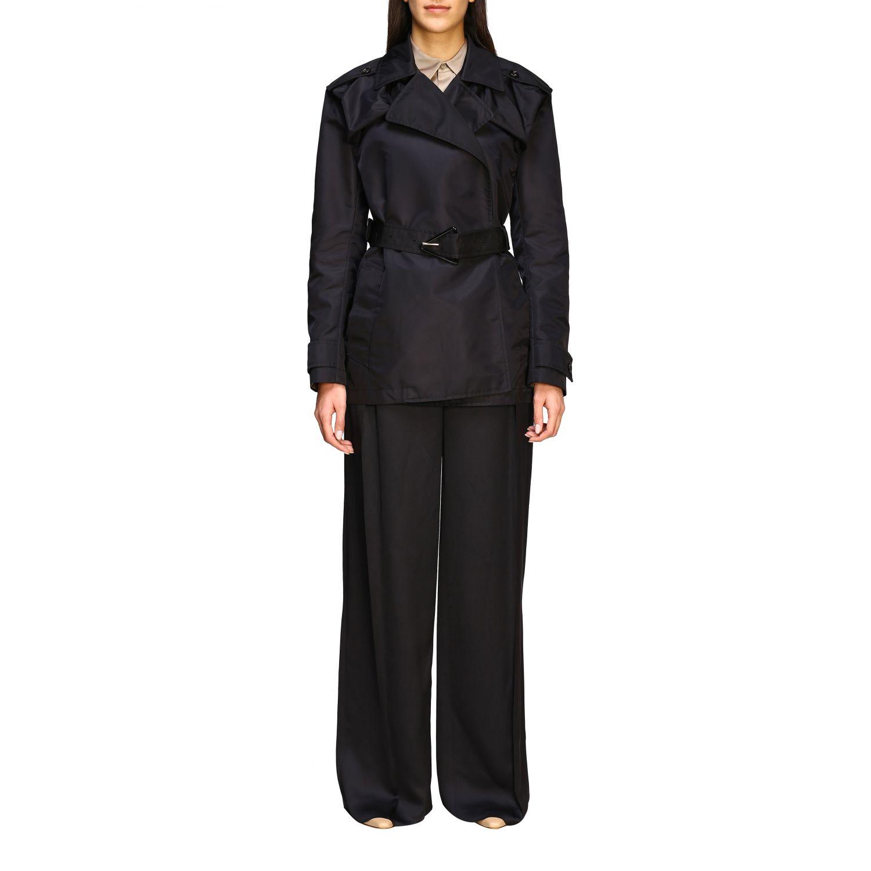 Coat Bottega Veneta: Coat women Bottega Veneta black 1