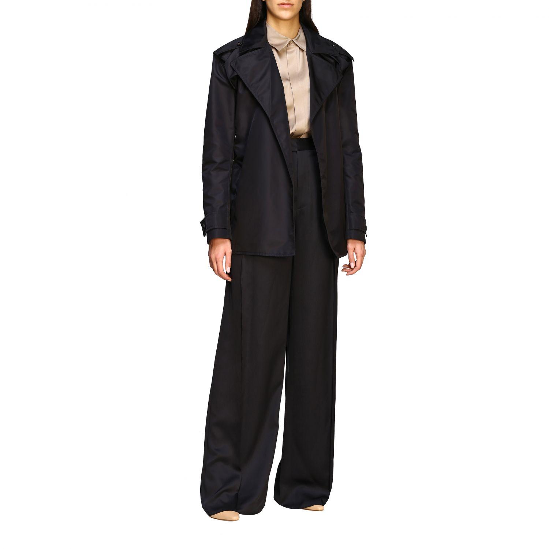 Coat Bottega Veneta: Coat women Bottega Veneta black 2
