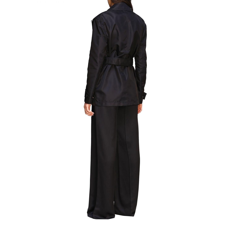 Coat Bottega Veneta: Coat women Bottega Veneta black 3