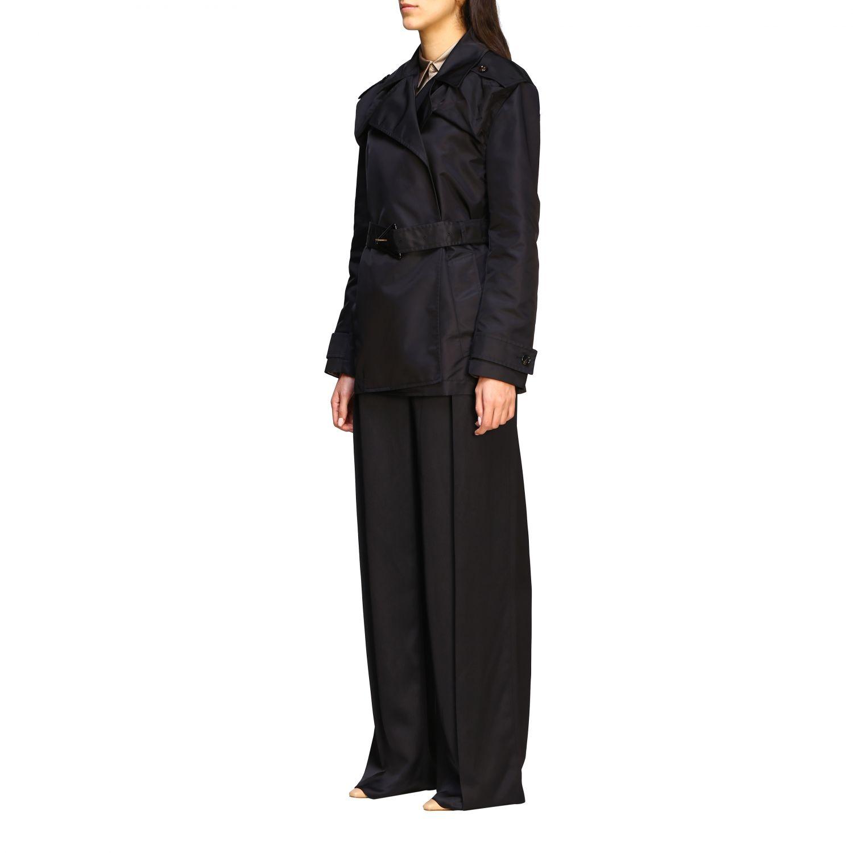 Coat Bottega Veneta: Coat women Bottega Veneta black 4