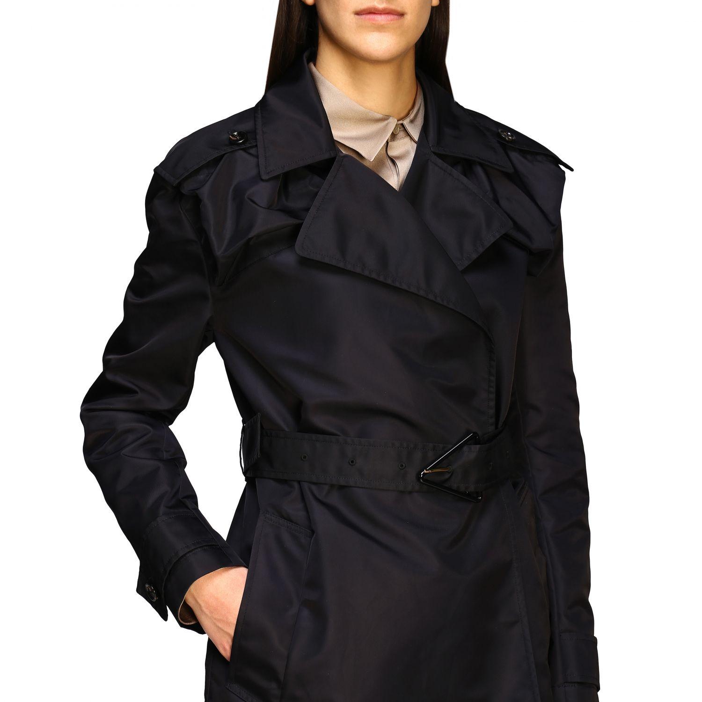 Coat Bottega Veneta: Coat women Bottega Veneta black 5