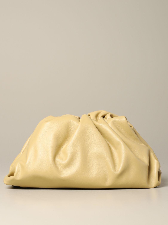 Clutch Bottega Veneta: Shoulder bag women Bottega Veneta cream 1