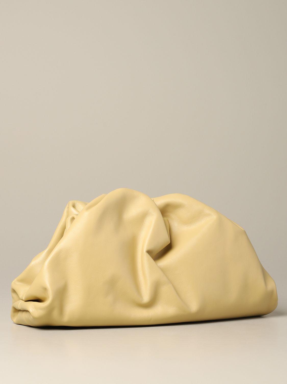 Clutch Bottega Veneta: Shoulder bag women Bottega Veneta cream 2