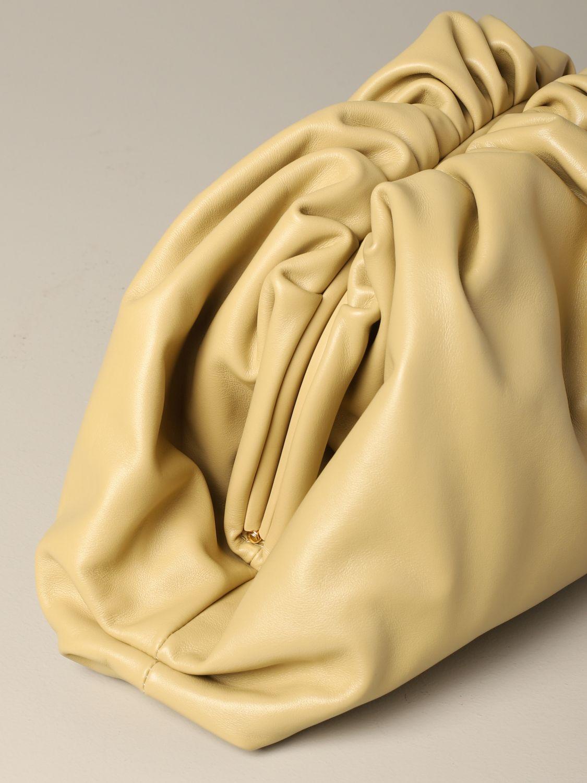 Clutch Bottega Veneta: Shoulder bag women Bottega Veneta cream 3