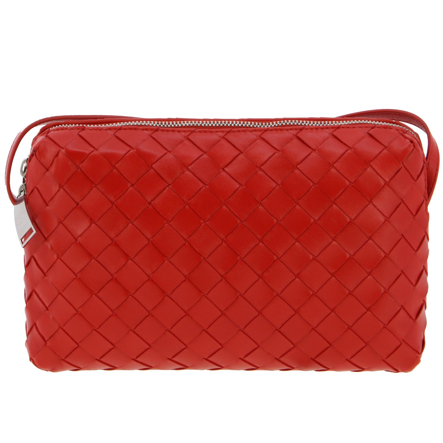 Crossbody bags Bottega Veneta: Shoulder bag women Bottega Veneta red 1