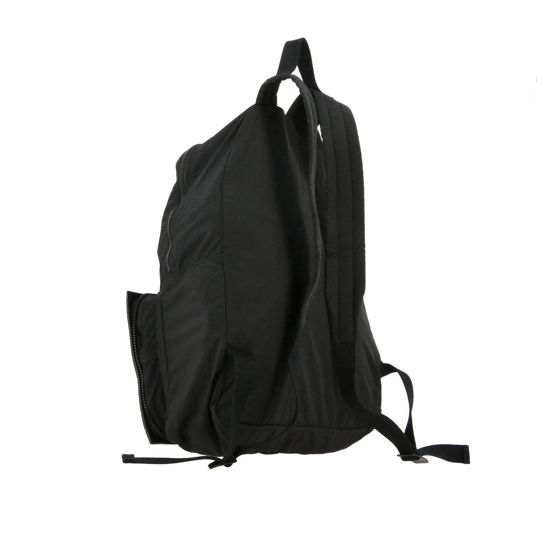 Backpack Bottega Veneta: Bottega Veneta clutch bag / backpack in nylon and woven leather black 4