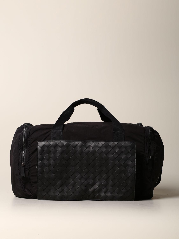 Shoulder bag Bottega Veneta: Bottega Veneta bag in woven leather and resealable nylon black 1