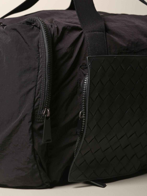 Shoulder bag Bottega Veneta: Bottega Veneta bag in woven leather and resealable nylon black 3
