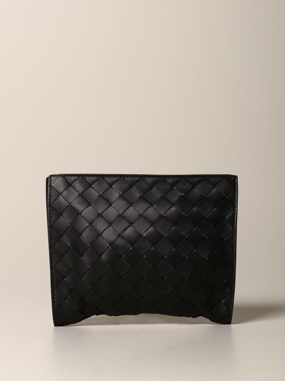 Shoulder bag Bottega Veneta: Bottega Veneta bag in woven leather and resealable nylon black 5