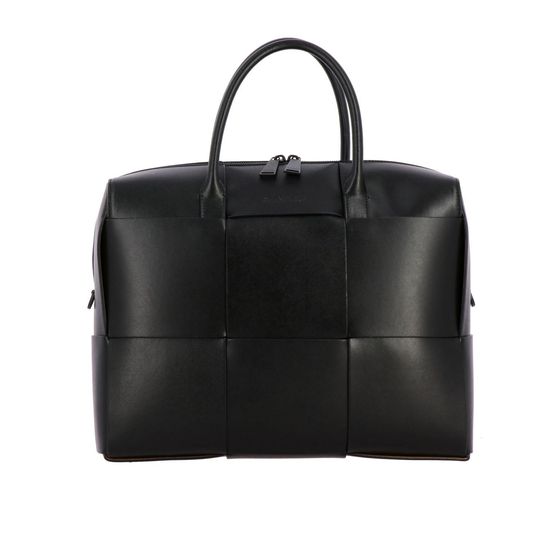 Tasche Bottega Veneta: Bottega Veneta Handtasche aus geflochtenem Leder schwarz 1