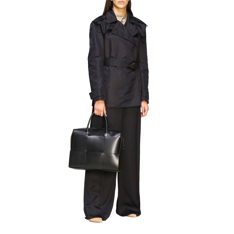 Tasche Bottega Veneta: Bottega Veneta Handtasche aus geflochtenem Leder schwarz 2