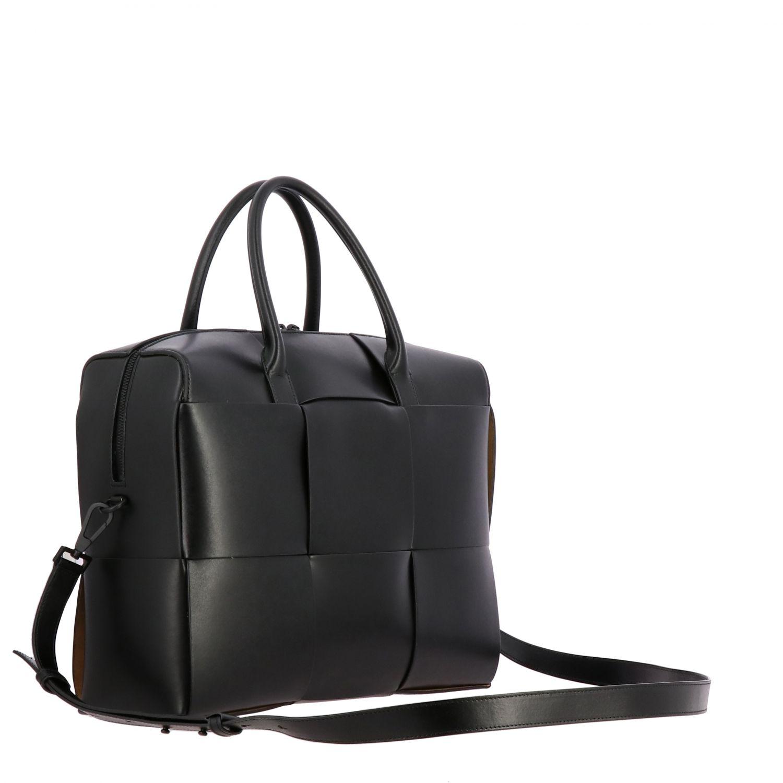 Tasche Bottega Veneta: Bottega Veneta Handtasche aus geflochtenem Leder schwarz 3