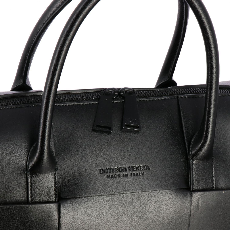 Tasche Bottega Veneta: Bottega Veneta Handtasche aus geflochtenem Leder schwarz 4