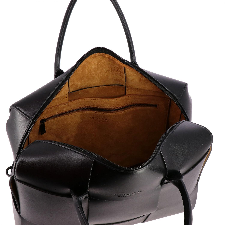 Tasche Bottega Veneta: Bottega Veneta Handtasche aus geflochtenem Leder schwarz 5