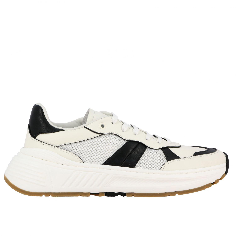 Sneakers Bottega Veneta: Bottega Veneta Speedster sneakers in leather and mesh white 1