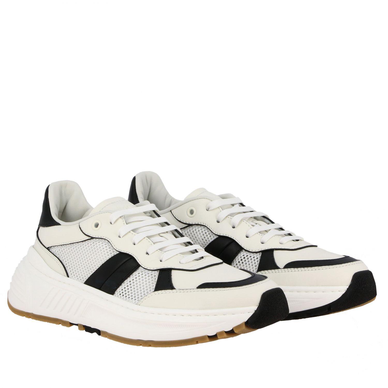 Sneakers Bottega Veneta: Bottega Veneta Speedster sneakers in leather and mesh white 2