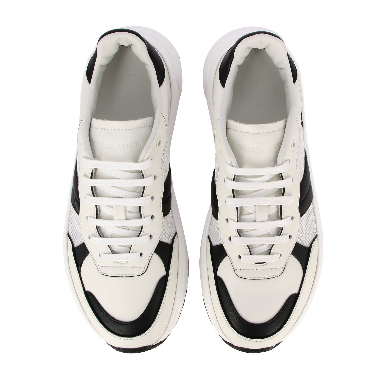 Sneakers Bottega Veneta: Bottega Veneta Speedster sneakers in leather and mesh white 3