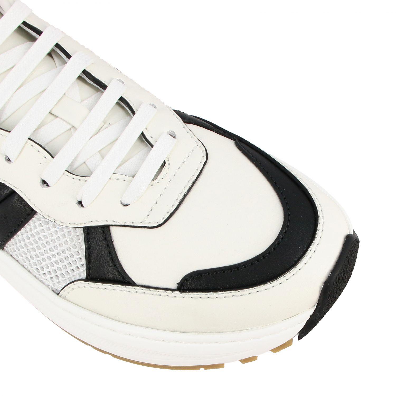 Sneakers Bottega Veneta: Bottega Veneta Speedster sneakers in leather and mesh white 4