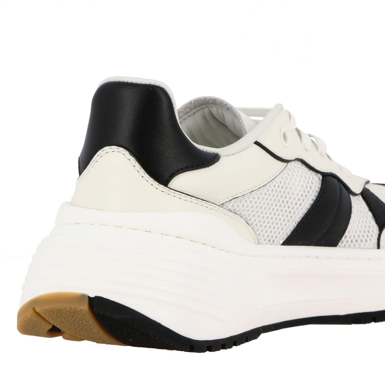 Sneakers Bottega Veneta: Bottega Veneta Speedster sneakers in leather and mesh white 5