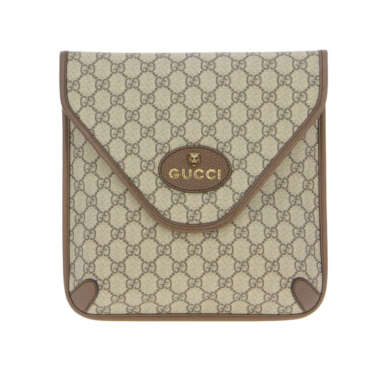 Borsello Neo vintage Gucci in pelle GG Supreme beige 1