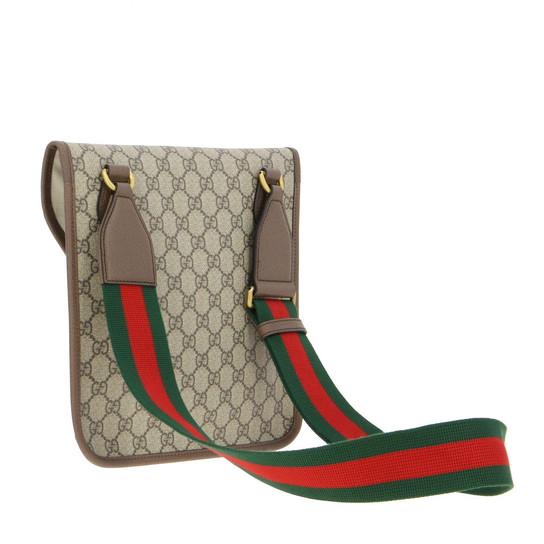 Borsello Neo vintage Gucci in pelle GG Supreme beige 2