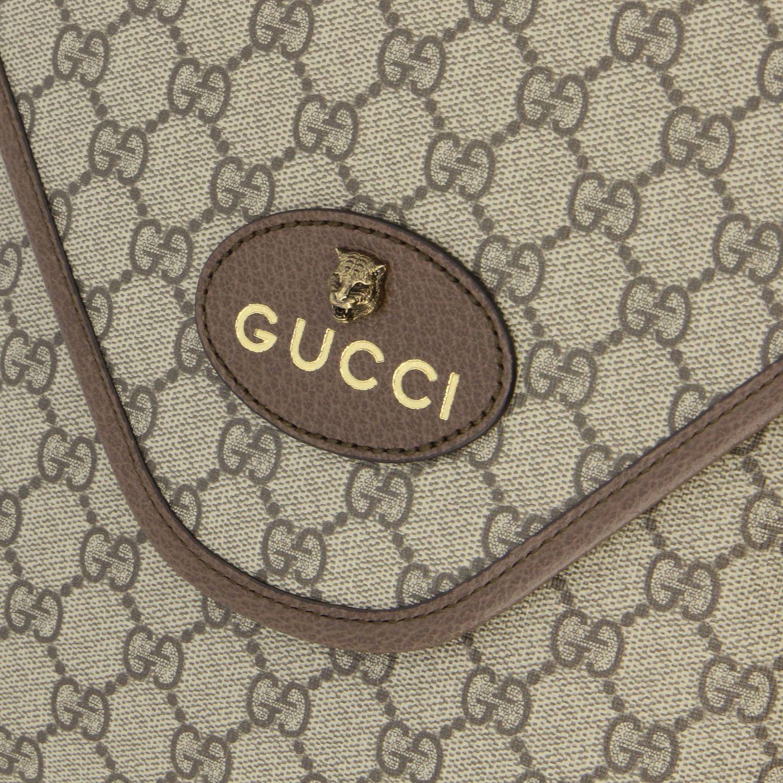 Borsello Neo vintage Gucci in pelle GG Supreme beige 3