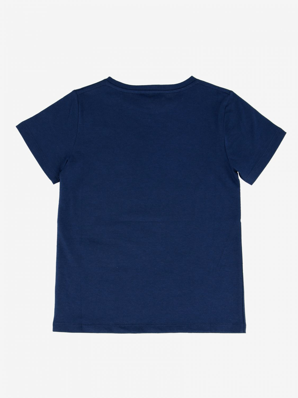 T-shirt Gucci: T-shirt Gucci con stampa logo blue 2
