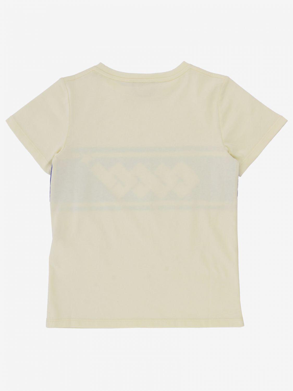 T-shirt Gucci: T-shirt Gucci con stampa logo bianco 1 2