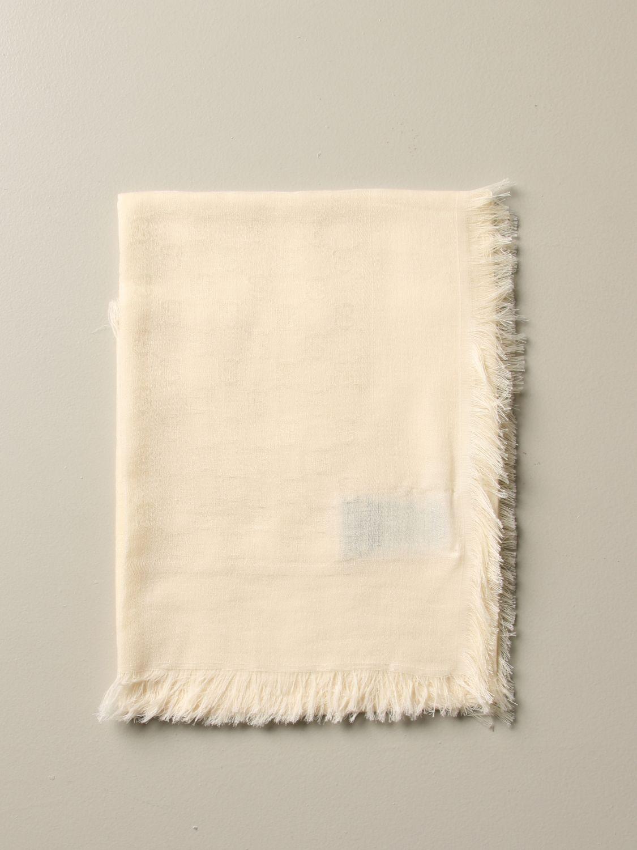 Foulard Gucci: Kefia Gucci basic blanc 1
