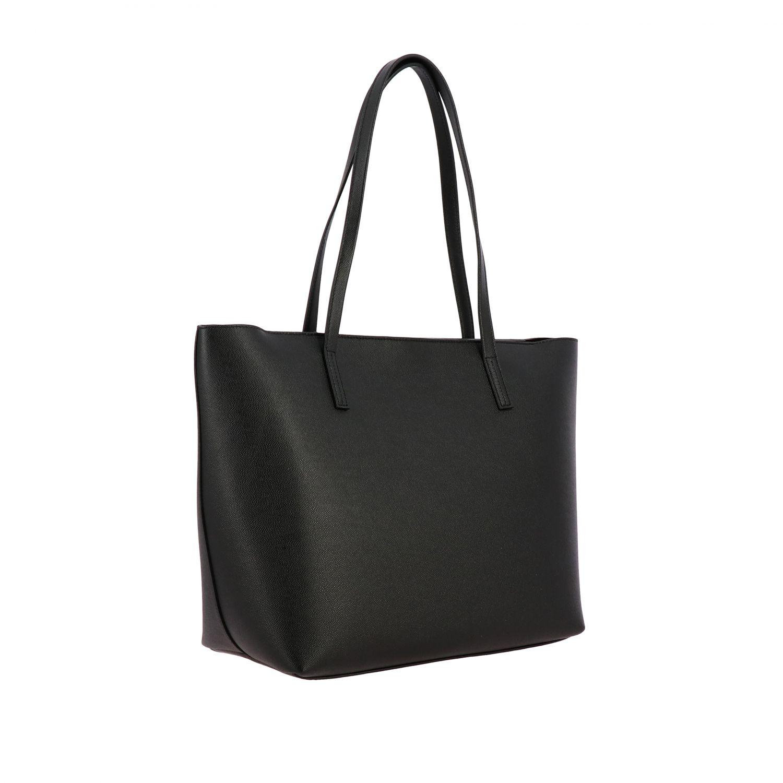 Mimì Furla Shopper aus strukturiertem Leder schwarz 3